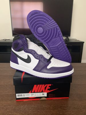 Air Jordan 1 Court Purple size 11 BRAND NEW 100% AUTHENTIC for Sale in Tampa, FL