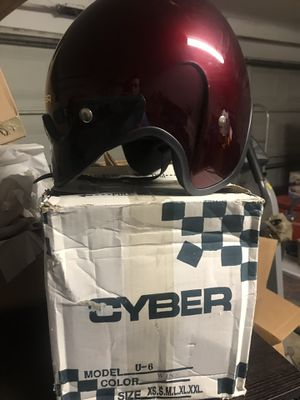 Two matching motorcycle helmets for Sale in Little Elm, TX
