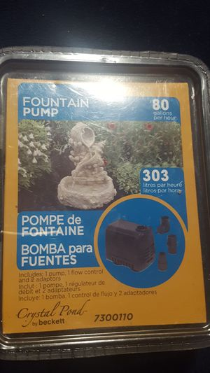 Fountain pump for Sale in North Richland Hills, TX