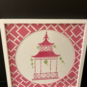 Pink pagoda picture for Sale in Hinsdale, IL