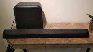 Insignia ns-sb515 wireless soundbar and subwoofer for Sale in North Springfield, VA