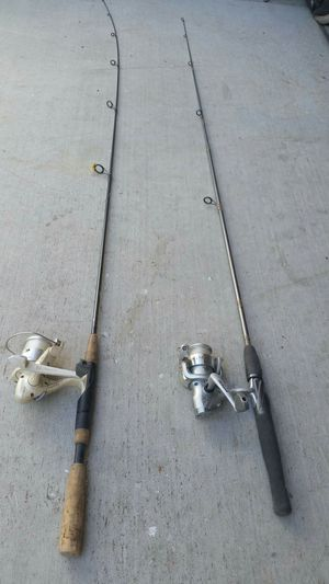 Fishing Poles Rods Reels Caña Pescar for Sale in Modesto, CA