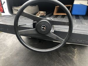 Corvette Steering Column and Wheel for Sale in Irwin, PA
