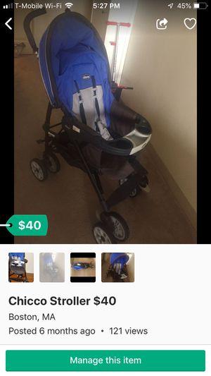 Chicco stroller for Sale in Boston, MA