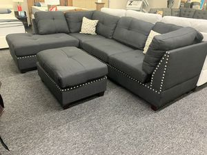 (JUST $54 DOWN) Brand New Modern Tufted Sectional (Financing and Delivery available) for Sale in Carrollton, TX