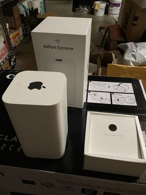 Apple AirPort Extreme gateway router - latest 6th generation - $75 (San Mateo) for Sale in San Mateo, CA