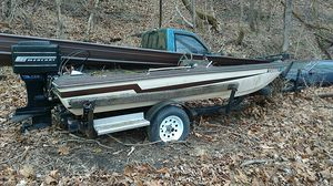 Fishing boat and motor for Sale in LAUREL PARK, WV