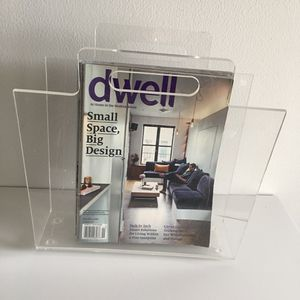 Lucite Magazine Rack Vintage for Sale in FL, US