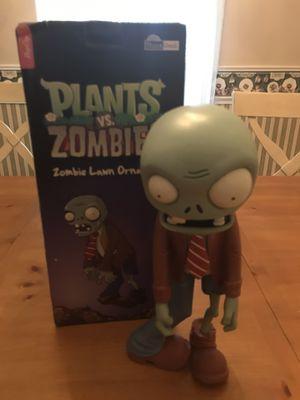Pop Cap ThinkGeek Plants vs Zombies Statue Lawn Ornament for Sale in Orange Park, FL