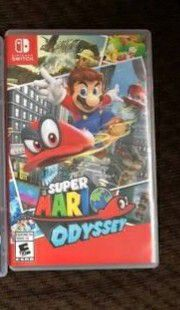 Super mario odyssey Nintendo switch for Sale in Coral Springs, FL