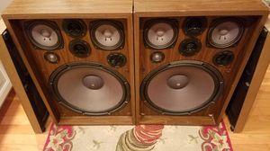 Vintage 1973 Kenwood KL-777A 110 Watt 4-Way 6-Speaker System for Sale in Columbus, OH