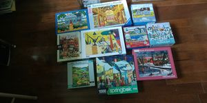 Jigsaw puzzles 10 for Sale in Richmond, TX