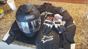 Motorcycle gear never used. Perfect condition. for Sale in San Diego, CA