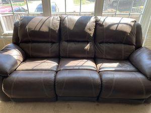 Reclining sofa and Love seat for Sale in Manassas, VA