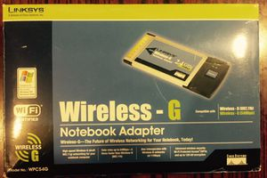 Linksys Wireless Notebook Adapter for Sale in San Francisco, CA