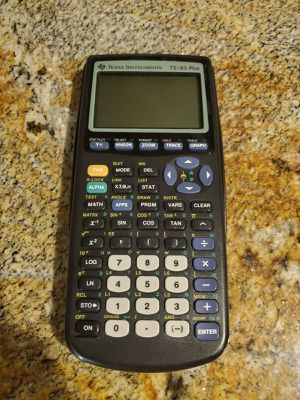 Texas Instruments TI83 calculator for Sale in Chandler, AZ