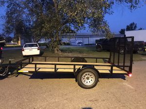 BRAND NEW 6x12 utility trailer just built for Sale in Gaston, SC