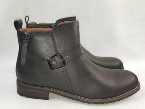 Dalton By Ferro Aldo Men's Ankle Boots with Classic Buckle Detail, Black Size 11 for Sale in Detroit, MI