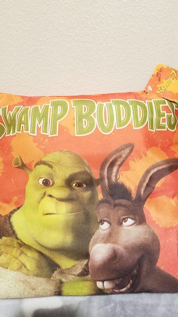 Shrek 2 pillows