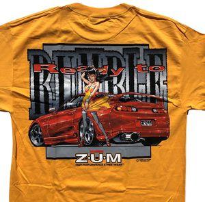 1999 Zum Speed DYKOM Mitsubishi Eclipse Anime Graphic Tee XL for Sale in San Diego, CA