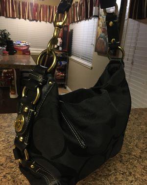 Coach black purse for Sale in Murrieta, CA