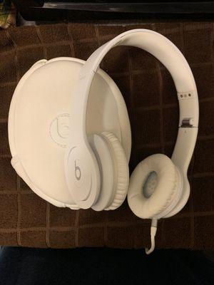 Beats solo HD all white for Sale in Buena Park, CA