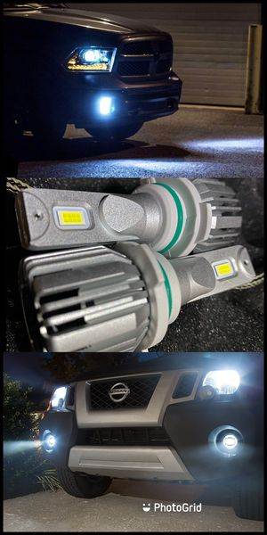 Super Bright Led headlights / Foglights with free license plate lights for all year makes and models for Sale in West Covina, CA