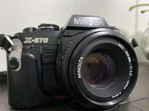 Minolta X-570 Camera for Sale in Miami, FL