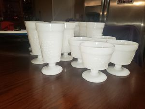 Antique milk glasses for Sale in Powder Springs, GA