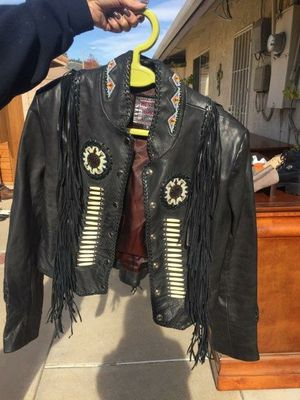 Western World Women's Black Leather Jacket, Sz Small for Sale in Lincoln, CA