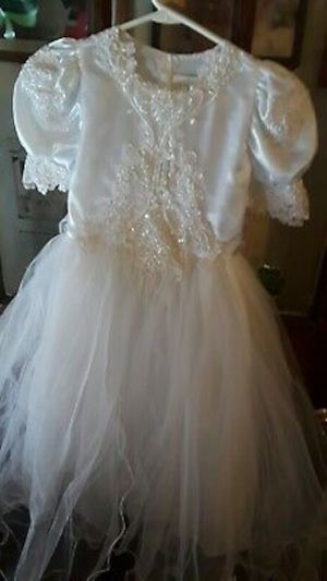 Communion/flower girl dress size 8 for Sale in Pittsburgh, PA