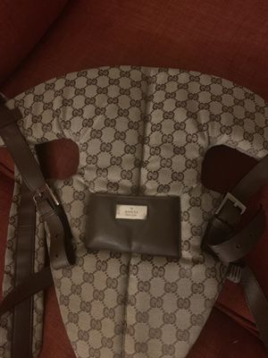 100% Authentic baby Gucci carrier for Sale in Roseville, MI
