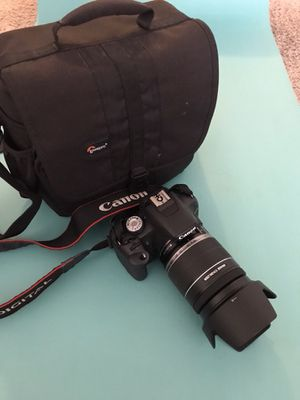 Canon EOS REBEL t1i DSLR +18-200 lens for Sale in Los Angeles, CA