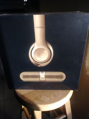 Beats studio wireless and pill bluetooth speaker for Sale in Wilmington, CA
