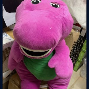 Fisher Price Speak N Sing Barney Large Talking Singing Plush 26 Inch Jumbo Soft for Sale in Concord, NC