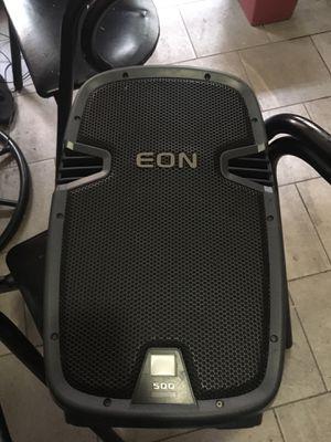 JBL EON 500 power Speakers for Sale in Boston, MA