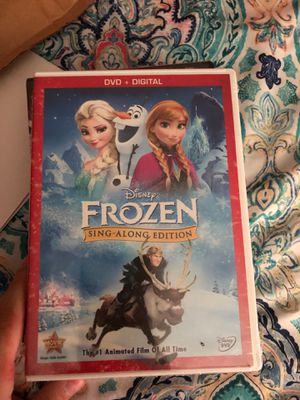 Frozen sing along movie for Sale in Tampa, FL