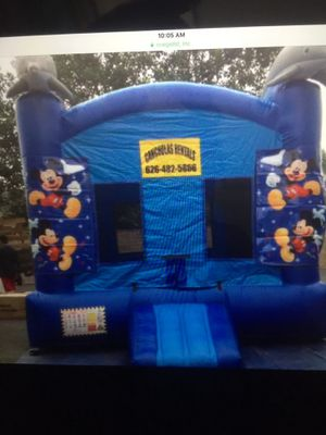 "Jumper for sale dolphins color blue 13 x 13"" interior extra game for Sale in West Covina, CA"