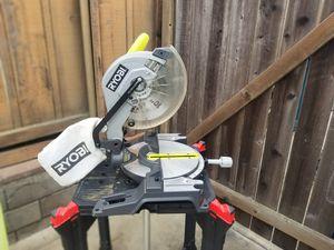 Ryobi ZRTS1345L 10 in. Compound Miter Saw with Laser Line (Renewed) for Sale in San Diego, CA