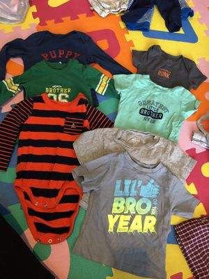 Variety boys clothes size 12 months/ 12-18 months for Sale in Fairfax, VA