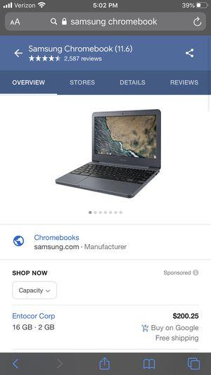 New Samsung chromebook for Sale in Centralia, WA