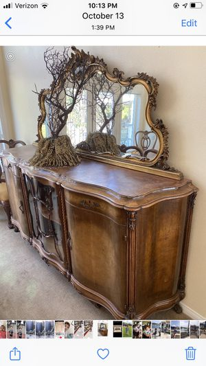 Antique china cabinet for Sale in Anaheim, CA