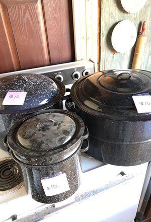 Canning pots for Sale in Interlochen, MI
