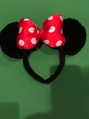 Minnie mouse ears for Sale in Whittier, CA