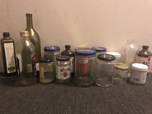 Free glass jars for Sale in Denver, CO