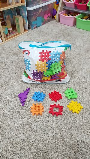Little Tikes 100 Waffle Blocks for Sale in Manassas, VA