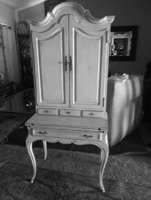 Vintage secretary's desk with cabinet for Sale in Stockton, CA