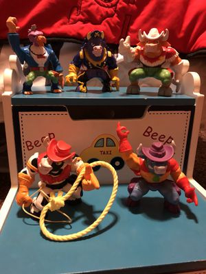 Cowboys of Moo Mesa Action Figures 1990's for Sale in Scottsdale, AZ