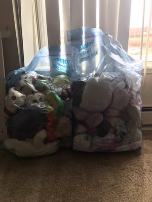 Stuffed animals/ build a bears for Sale in Bolingbrook, IL