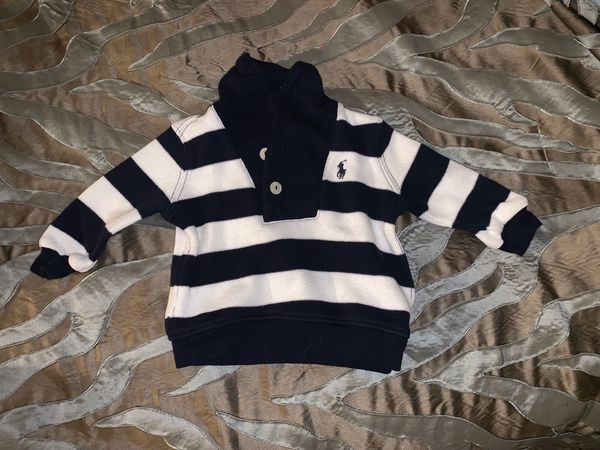 Baby polo sweater, worn once, size 3 months